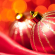 Stock Photo: Christmas decorative balls