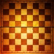 Vintage chessboard — Stock Photo