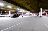 Mall underground parking — Stock Photo
