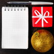 Christmas at office — Stock Photo