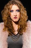 Glam rock woman — Stock Photo