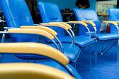 Business training chairs — Stock Photo