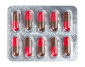 Pills in blister packs — Stock Photo