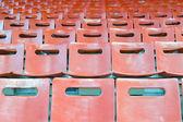 Empty stadium seats — 图库照片