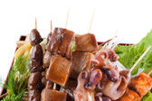 Barbecue collection — Stock Photo