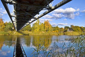 Bridge over River — Stock fotografie