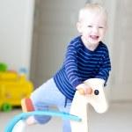 Playing toddler — Stock Photo