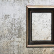 Frame on wall — Stock Photo