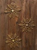 Decorative snowflakes — Stock Photo