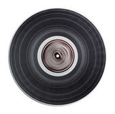 Old vinyl record isolated — Stockfoto