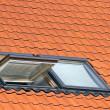 Dormer roof window — Stock Photo