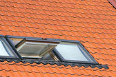 Dormer roof window — Stock Photo