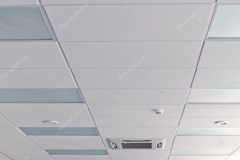 office ceiling with air duck fire detector and lamps photo by mrtwister ceiling office