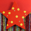 Christmas star decorations — Stock Photo