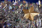 Decoración de la estrella de navidad — Foto de Stock
