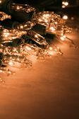 Luzes do feriado — Foto Stock