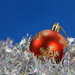 wintery decoration — Stock Photo