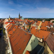 Bautzen city in Germany panorama - Stock Photo