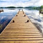 Wooden bridge — Stock Photo #6912628