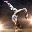 Young woman dancer — Stock Photo #6912796