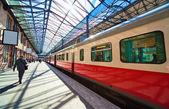 Railway station in Helsinki Finland — Stock Photo