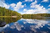 озеро финляндии — Стоковое фото
