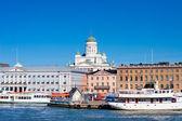 Helsinki cityscape — Stock Photo