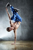 Break dance — Stock Photo
