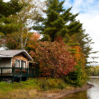 Cottage On The Lake, Canada — Stock Photo #7006311