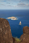 Motu Nui islet near Easter Island — Stock Photo