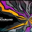 Cool abstract graffiti background — Stock Vector #7349552