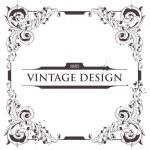 Vintage frame — Stock Vector #7349608