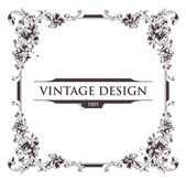 Quadro do vintage — Vetorial Stock