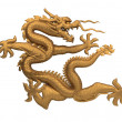 Bronze dragon — Stock Photo