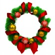 Christmas wreath — 图库照片