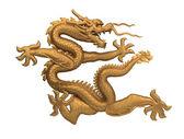 Bronze dragon — Stock Photo