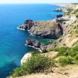 Black sea coast, Crimea, Ukraine — Stock Photo