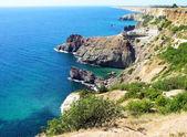 Black sea coast, Crimea, Ukraine — Stock Photo