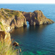 Diana grotto in the Black sea — Stock Photo