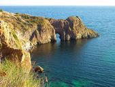 Gruta de diana en el mar negro — Foto de Stock