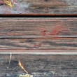 Obsolete painted wood — Stock Photo #7146651