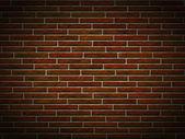 Mur de briques de grunge — Photo