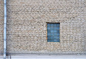 Wall and window — Stock Photo