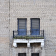 Stock Photo: Wall and balcony