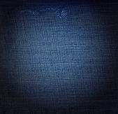 Used denim jeans — Stock Photo