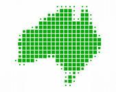 Map of Australia — Stock Photo