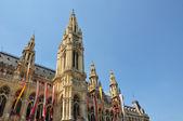 Town hall (Rathaus) of Vienna — Stock Photo