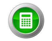 Calculator button — Stock Photo