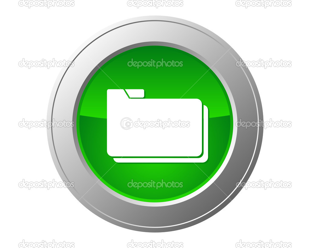 Folder button — Stock Photo #6910525