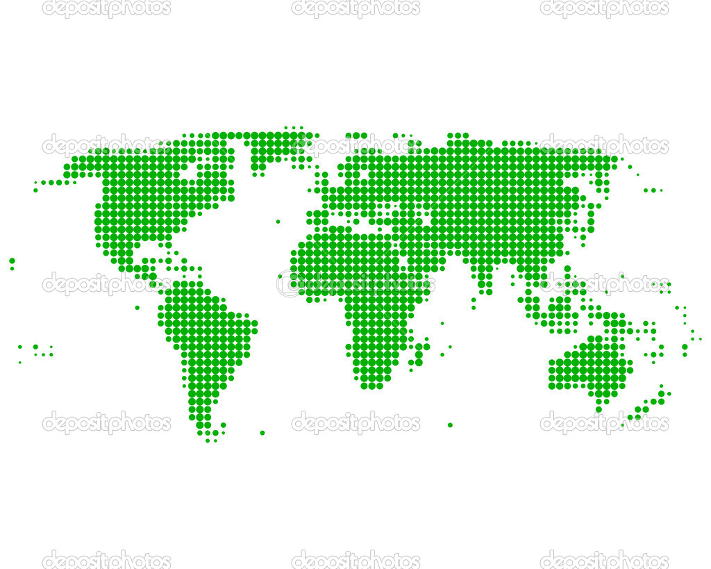 World map — Stock Photo #7147415